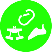 Various levels of Climbing Classes are available at projectROCK