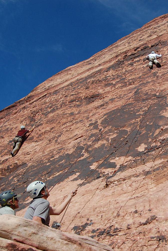 projectROCK Group Climbing